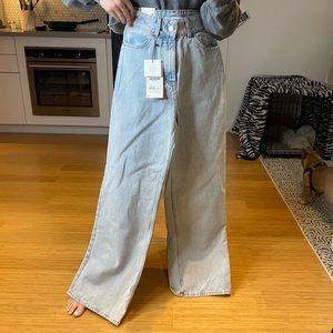 NWT Zara wide leg jeans